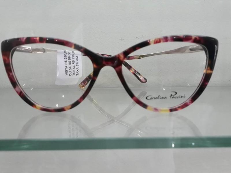 644f63f29bbe8 Armação de óculos de grau - Carolina Paccini em Piracicaba