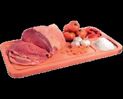 Coxão mole bovino em bifes
