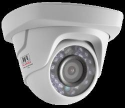 Câmera infra CHD1015P Dome 2,8mm 720p Branca JFL