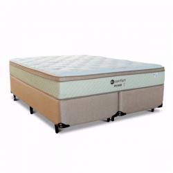Cama Box King Eco Comfort 193x203 Molas Ensacadas  Loja