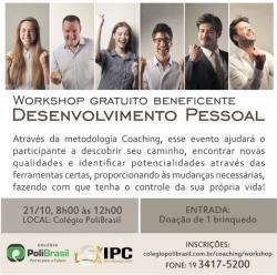 Workshop Gratuito Desenvolvimento Pessoal Coaching