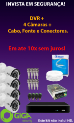 KIT CFTV EM ATÉ 10x SEM JUROS!
