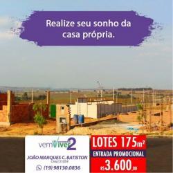LOTES PRONTOS PARA CONSTRUIR EM PIRACICABA SP
