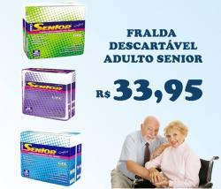 Fralda Descartável Adulto Senior