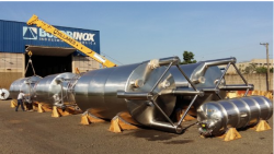 Tanque CIP Vaso de Pressão em Inox