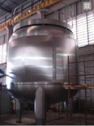 Equipamentos e Acessórios  - Pasteurizador em Inox - Pasteurizador em Inox