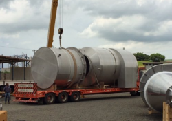 Equipamentos e Acessórios  - Lavador de Gases em Inox - Lavador de Gases em Inox