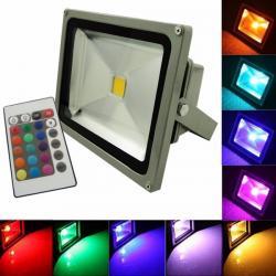 REFLETORES RGB 10 WATTS 20 WATTS 30 WATTS 50 WATTS 100 WATTS