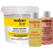Alisante de Cabelo Guanidina Salon Line