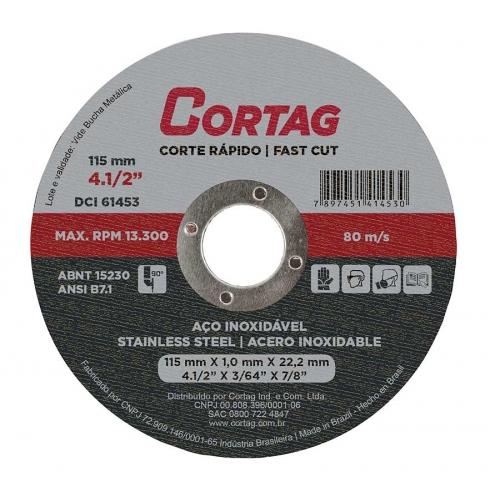 Código 61.453 Corte Fino 115 mm Aço