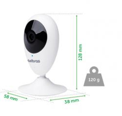 Câmera IC3 mibo Intelbras em até 3x de 125,6