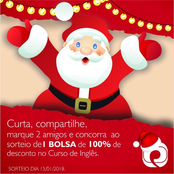 campanha-de-natal-sorteio-curso-de-ingles-gratis