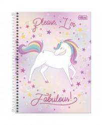 Livraria e papelaria - cadernos unicornio blink  - cadernos unicornio blink