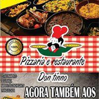 Almoço aos Domingos é na Pizzaria Don Tinno!!!