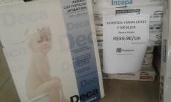 Assentos INCEPA e DECA para vaso sanitário